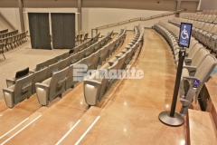 Our associate, Texas Bomanite, used the Bomanite Patene Teres and Bomanite Patene Artectura systems to create these distinctively beautiful custom polished and dyed concrete floors at Hope Fellowship Church, and the finished product adds a warm, earthy design aesthetic that is truly welcoming.