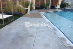 Earning the Bronze Award in 2017 for Best Bomanite Exposed Aggregate Project, our associate Bomanite of Tulsa, Inc., installed Bomanite Alloy decorative concrete to create a hardscape surface that will provide durability, slip resistance, and amplify the sophisticated and glamorous design at the Hard Rock Hotel & Casino Tulsa.