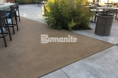 Bomanite Alloy Exposed Aggregate was installed here to create a cohesive decking surface that will provide durability and slip resistance next to the pool, while complementing the sleek, stylish design aesthetic at the Hard Rock Hotel & Casino.