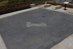 Natural Gray Bomanite Alloy was installed here and then engraved to create a decorative concrete hardscape surface that is extremely durable and adds beautiful charm and character to this outdoor gathering space.