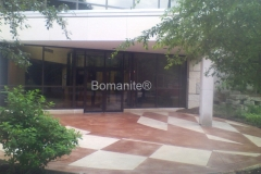 Bomanite Exposed Aggregate Systems with Bomanite Sandscape Refined
