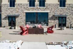 Gaylord Rockies Resort & Convention Center Features Bomanite Sandscape Texture Decorative Concrete