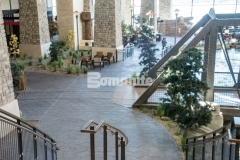 Our colleague, Colorado Hardscapes, earned the Bomanite Imprint Systems 2018 Silver Award for their skillful installation of Bomanite Imprint Systems at the Gaylord Rockies Resort & Convention Center, and the Bomacron Small Random Slate imprint pattern featured here was carefully placed, impression by impression, to assure a deliberate, repetitive, and natural looking result.