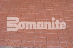 Connecticut Bomanite Systems earned the 2018 Bomanite Imprint Systems Bronze Award for their installation of 31,450 square feet of Bomanite Basketweave Brick imprinted concrete and their excellent execution added a unique, sophisticated charm to this pavilion in Hartford, CT.