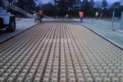 Bomanite Grasscrete Concrete Access at Ft. Bragg